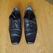 Туфлі шкіряні р.45 стелька 31 см Conhpol