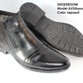 Классические зимние ботинки на меху, 40-45