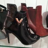 Стильные ботиночки Деми  Кожа и замш