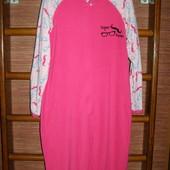 Пижама флисовая, женская, размер S,рост до 165 см