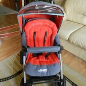 Универсальная коляска 2 в 1 baby design