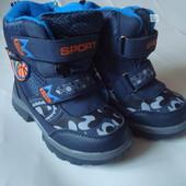 ботинки для мальчика зимние 25 26