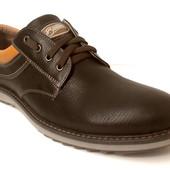 мужские кожаные туфли Модель:  127к