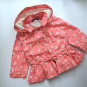 Куртка деми с зайками 2в1Sergent Major (9-12 мес.)