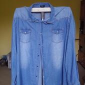 Рубашка-велікан  джинсова 6 XL Man