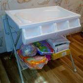 2 в 1 Ванночка + пеленальный столик