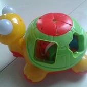 Черепаха-знайка Kiddieland на русском языке