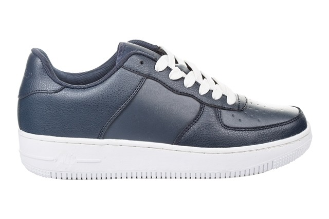 Кожанные кроссовки,т.синие.41-45 фото №1