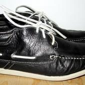 кожаные ботинки деми 26,5 см