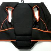 Защита спины вело Crivit размер XS/S надежно фиксируется велосипедная