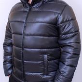 Зимняя мужская теплая куртка с капюшоном