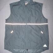 Adidas (L) спортивная жилетка ветровка мужская