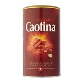 Caotina какао, шоколад 500g, 750g, 1000g, 10х15g
