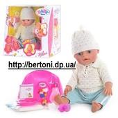 Пупс Baby Born с аксессуарами и одеждой (9 функций) bb 8001-e (Зима)