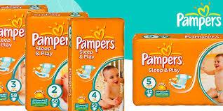 Детские подгузники pampers sleep & play памперс слип енд плей фото №1