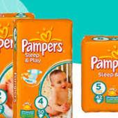Детские подгузники Pampers Sleep & Play Памперс слип енд плей