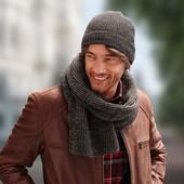 Шерстяной шарф Woolmark вlend от ТСМ тchibо Германия