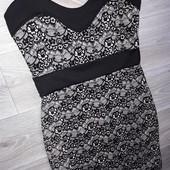 Шикарное платье р 10 New Look Сток