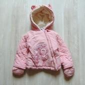 Нежная демисезонная куртка для модницы. Rock a Bye Baby. Размер 0-3 месяца. Состояние: новой вещи.