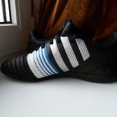Крутые черные кроссовки Adidas 4.0, размер 38