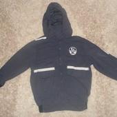 Фирменная куртка-ветровка, 4-5 лет, рост 110 см, Италия