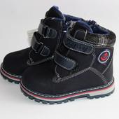 Детские зимние ботиночки для мальчиков.