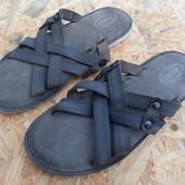 Шлепанцы Am shoe Company кожа -размер 42-длина стельки-28 см