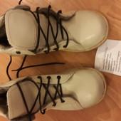 Ортопедические утепленные ботинки. Кожа!