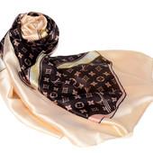 Женский шелковый шарф Louis Vuitton