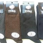Чоловічі шерстяні шкарпетки. Мужские клаcсические шерстяные носки Tuba