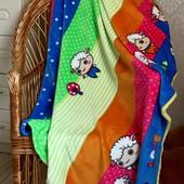 Детский плед одеяло Овечки