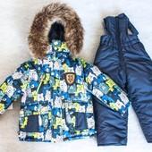 Комплект для мальчика на зиму  Happy Family. 92- 110