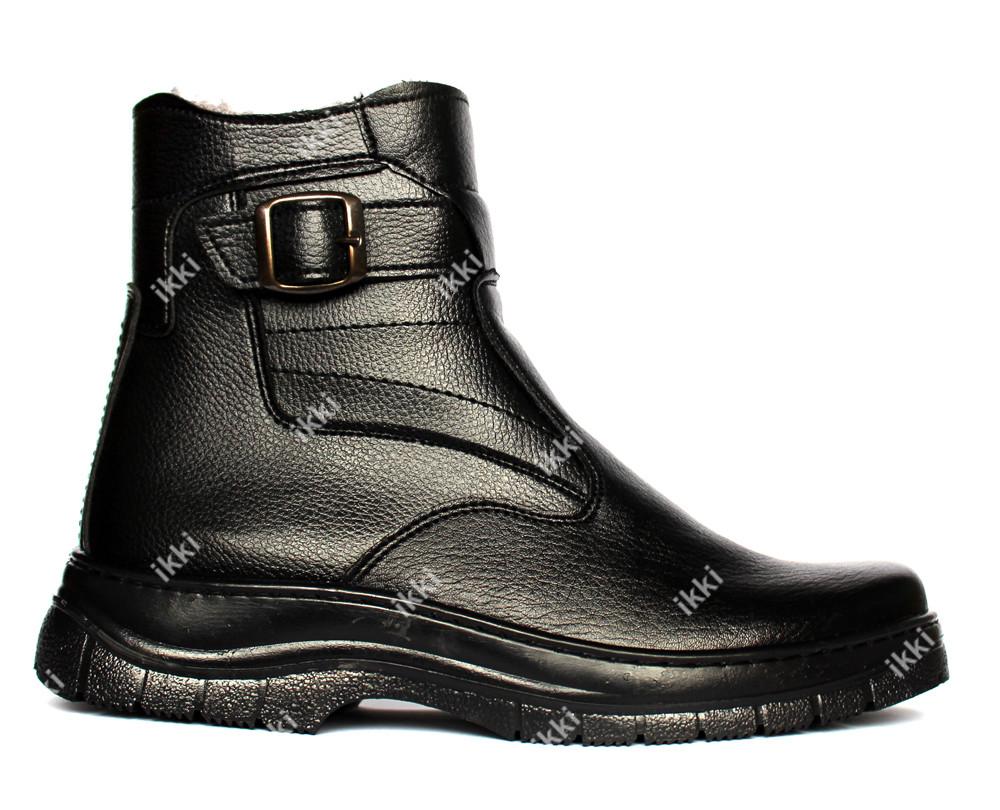 40 р Мужские зимние ботинки на меху классические (ЮК-7) фото №1