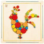 Мозаика для раскрашивания «Петушок», Hape Артикул: E5129