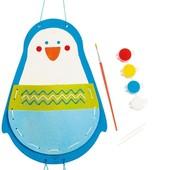 Набор для вышивки и раскрашивания «Пингвин», Hape Артикул: E5132