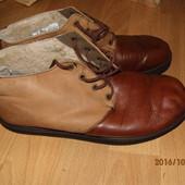 (№і16)зимние кожаные ботинки на цигейке 42 р UK 8,5 Bama