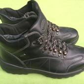 Ботинки кожаные hotter uk 7.5, р.41, ст. 27см.