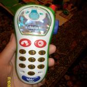 Телефон Чикко и др игрушки