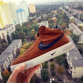 Кроссовки мужские Nike blazer high /Gray, Black, Blue, brown