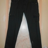 Стильно! Укороченные брюки карго Piaza iItalia(46 р.)