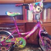 децкий велосепед Маша и медвежь