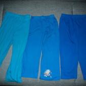 Фирменные штаны х/б на 3-4 года
