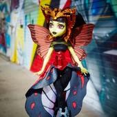 Монстер Хай Луна Мотьюс кукла monster high boo york luna mothews