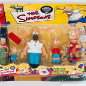 Набор фигурок Симпсоны, семья Симпсонов, гомер мардж барт лиза мэгги