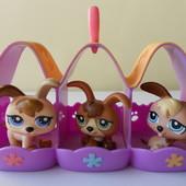 Набор Littlest Pet Shop оригинал, Hasbro. б/у в отличном состоянии