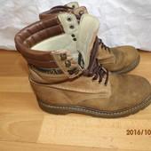 (№і67)фирменные кожаные ботинки 43 р Landrover
