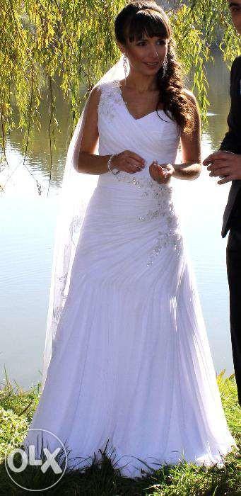 Свадебное платье, размер s фото №1