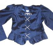 Школьная форма,нарядный жакет для девочки 6-9 лет