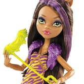 Monster High y Clawdeen Wolf  оригинал
