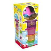 Игрушка для купания BeBeLino Пирамидка Жители водоемов